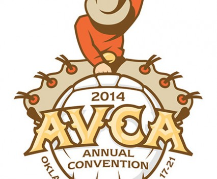 2014 AVCA Convention logo