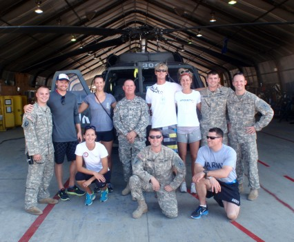 Athletes and Soldiers