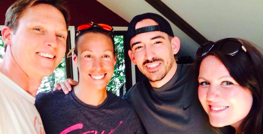 Selfie with The Net Live hosts Kevin, DJ Roueche & Katie